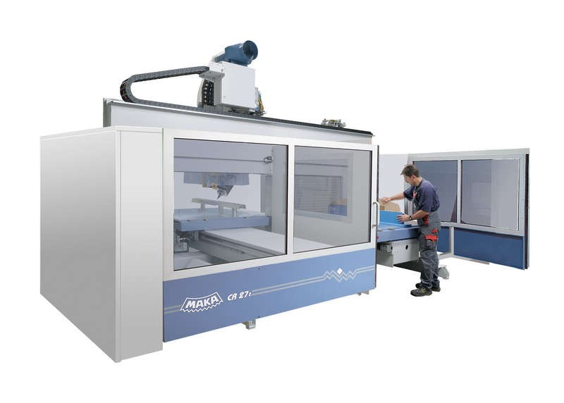 CR 27 - CENTRE D'USINAGE CNC 5 AXES