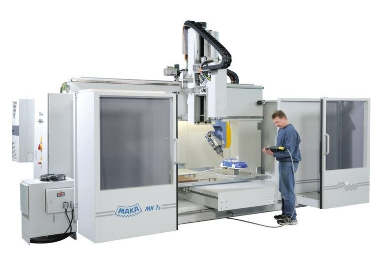 MK 7 - CENTRE D'USINAGE CNC 5 AXES