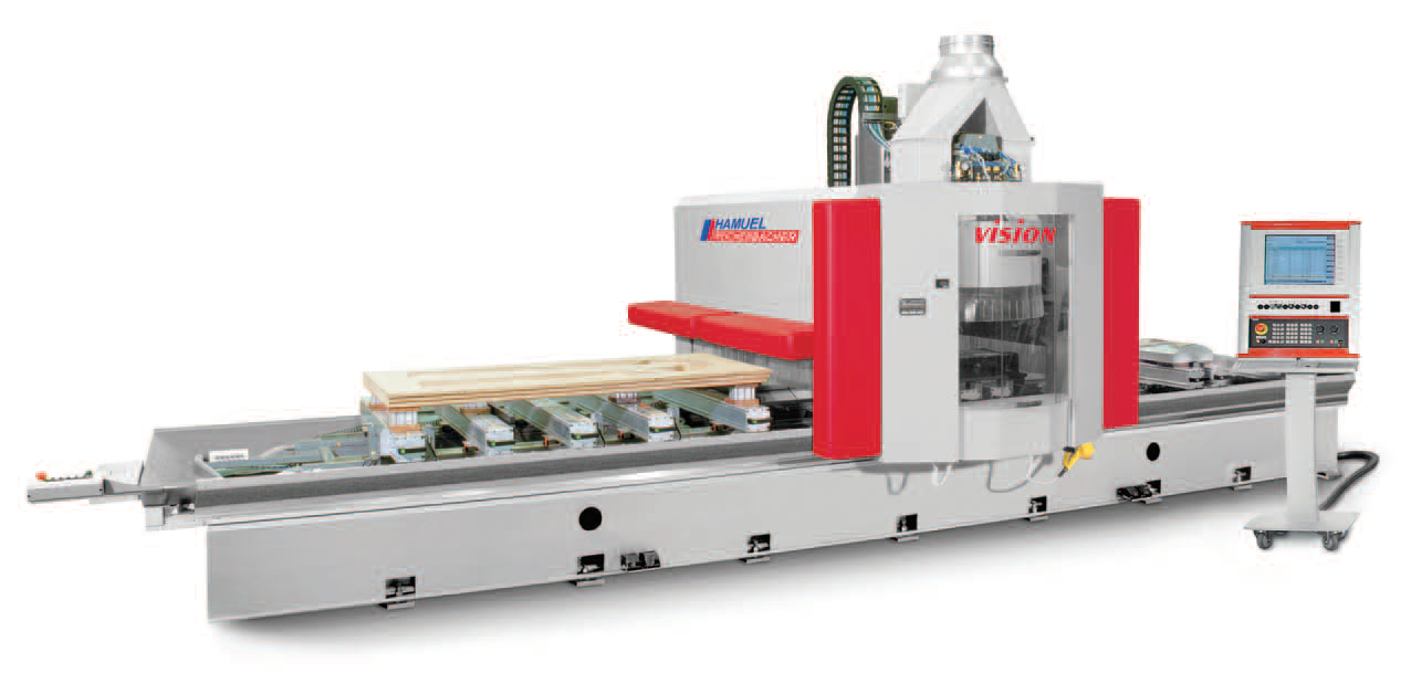 VISION - CENTRE D'USINAGE CNC 5 AXES