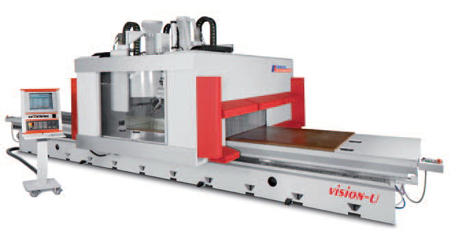 VISION U/L - CENTRE D'USINAGE CNC 5 AXES