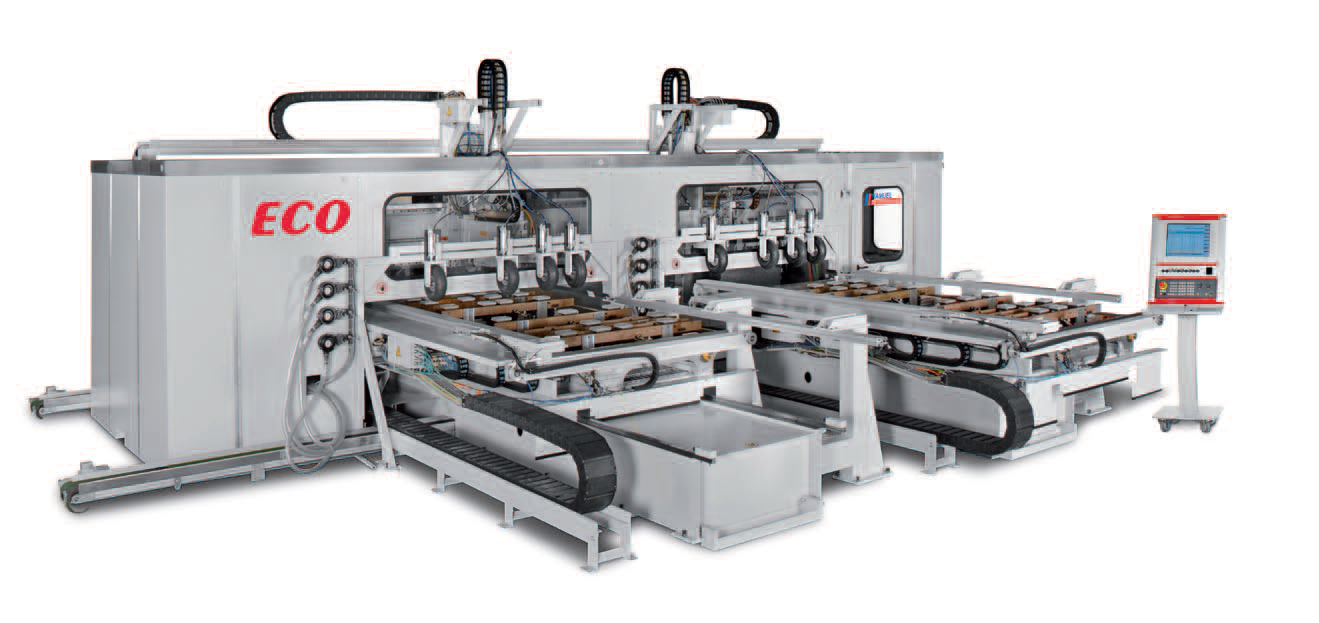 ECO - CENTRE D'USINAGE CNC 5 AXES