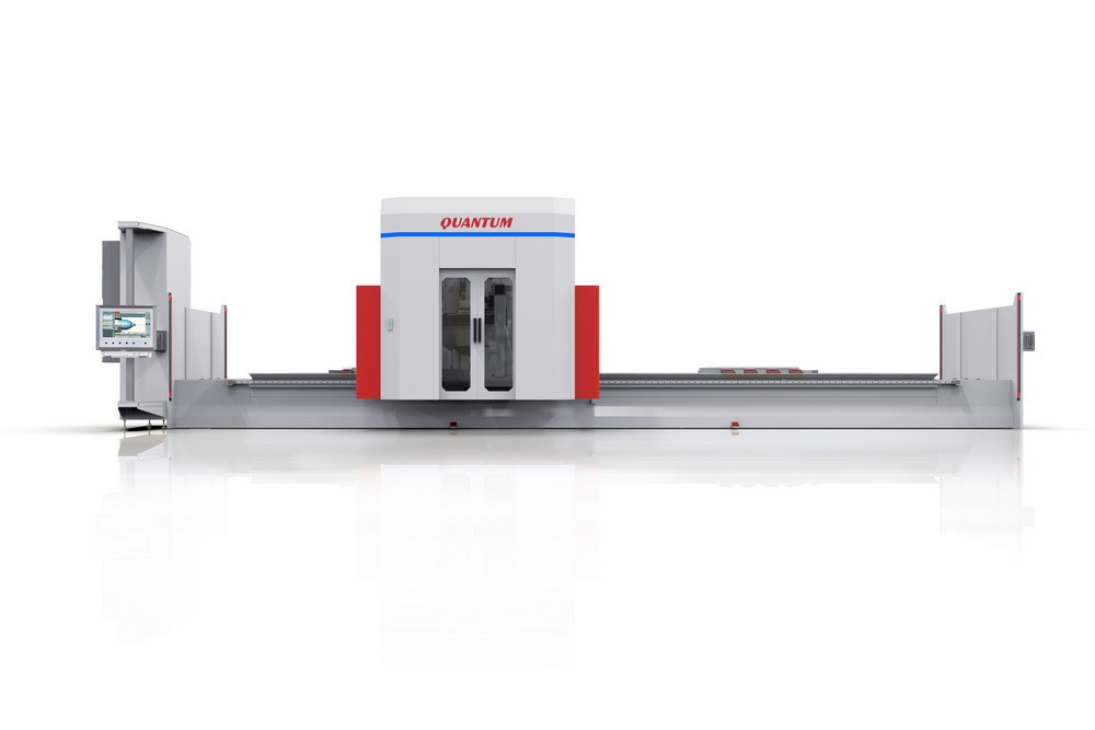 QUANTUM - CENTRE D'USINAGE CNC 5 AXES COMPACT
